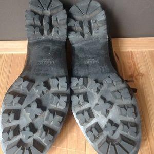 Prada Shoes - Prada Black Leather Men's Spazzolato Shoes
